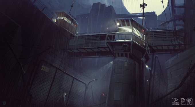Batman_Arkham_Origins_Concept_Art_GS_Blackgate_Mood01_YardGuardTower