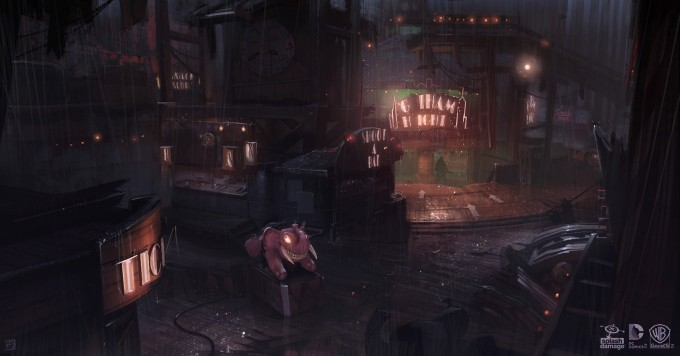 Batman_Arkham_Origins_Concept_Art_GS_Funhouse_FerrisWheelGothamHeightsTransition