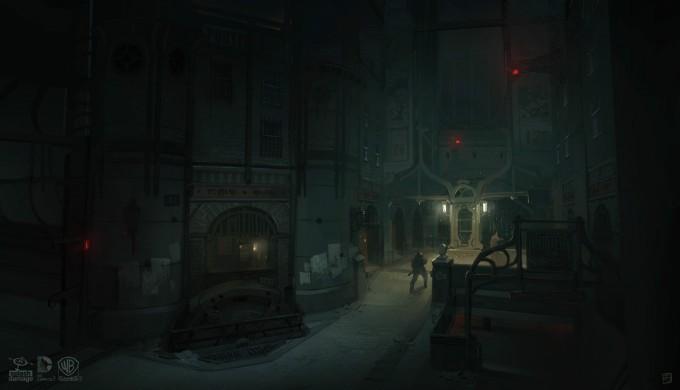 Batman_Arkham_Origins_Concept_Art_GS_RobotArmy_StreetSide
