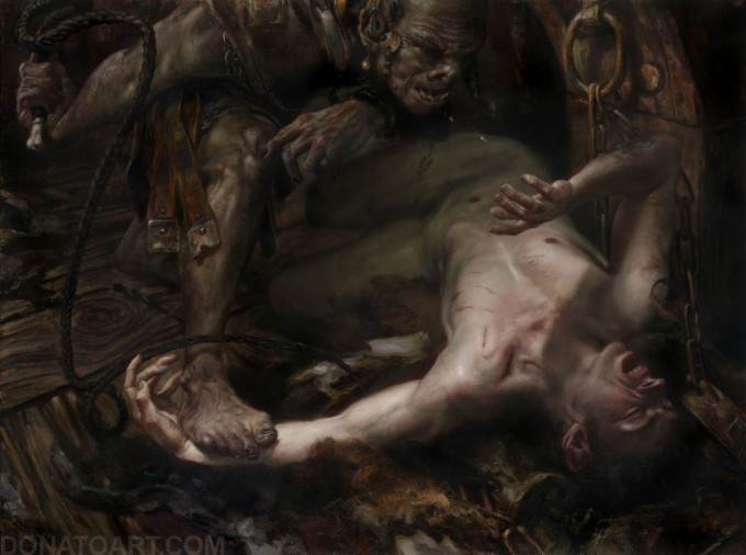 Middle-Earth_Hobbit_Cirith_Ungol_Donato_Giancola_Art_01