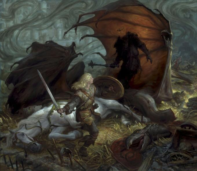 Middle-Earth_Hobbit_Eowyn_Nazgul_Donato_Giancola_Art_01