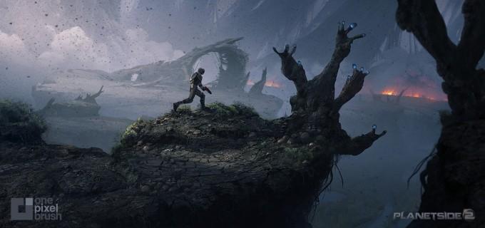 Planetside_2-Swamp-Basin_Concept_Art_OnePixelBrush
