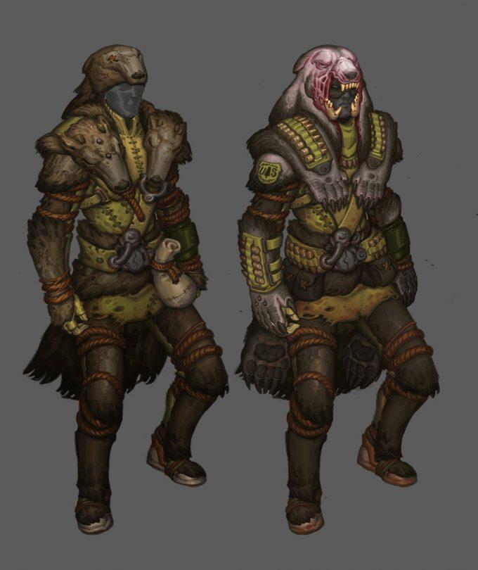 avery coleman crockett progression character concept art