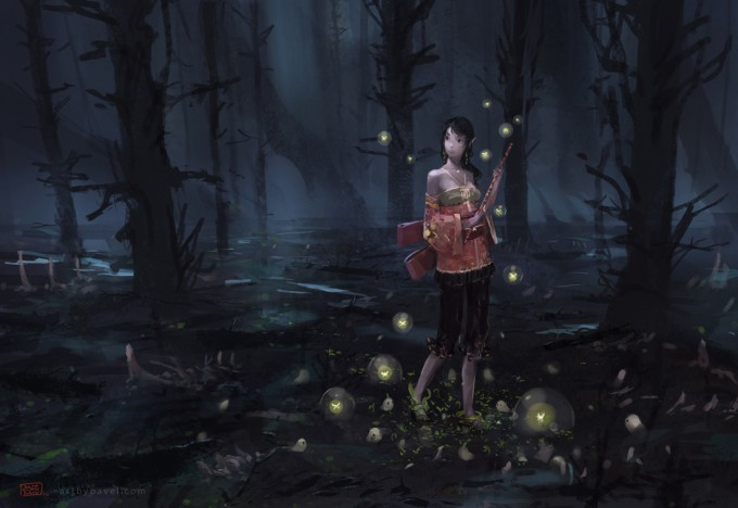 Pavel_Elagin_Concept_Art_flautist_woods_sk2