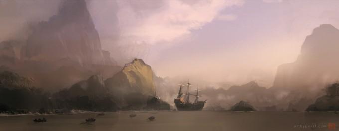 Pavel_Elagin_Concept_Art_ship_bay