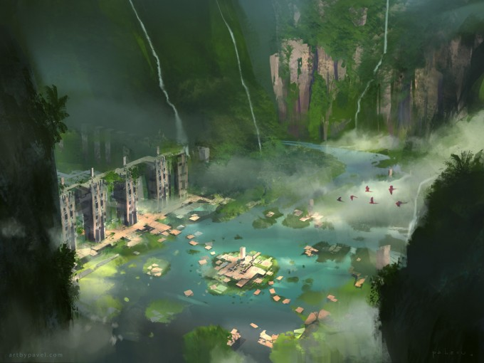 Pavel_Elagin_Concept_Art_valley_ruins