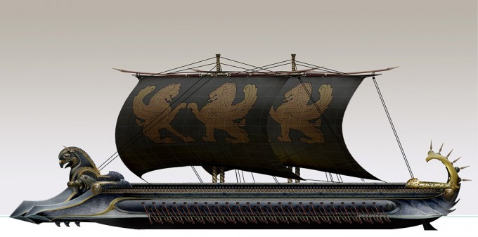 300_Rise_of_an_Empire_Concept_Art_SM_Persian_Trireme_Elevation