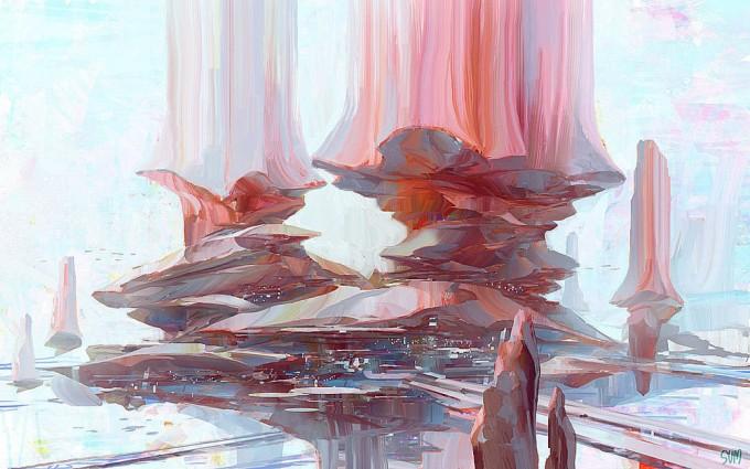 Brian_Sum_Concept_Art_City_of_Rainbow_Pillars