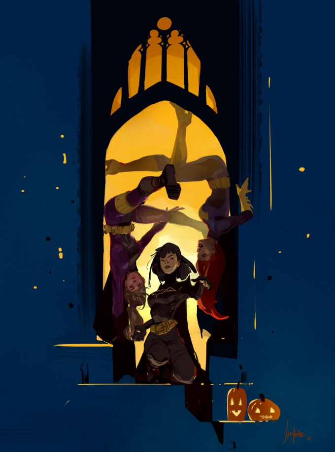 Jen_Zee_Concept_Art_Ilustration_Bat_Girls_01