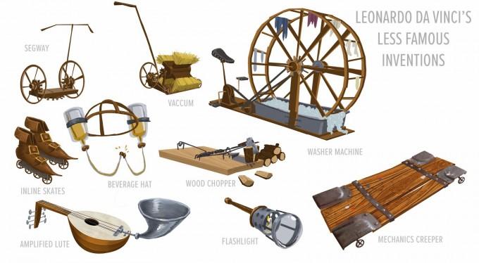 Mr_Peabody_Sherman_Concept_Art_Bryan_Lashelle_da_vinci_inventions