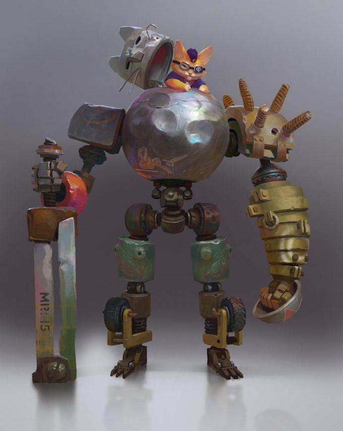 konstantin maystrenko art catbot 1