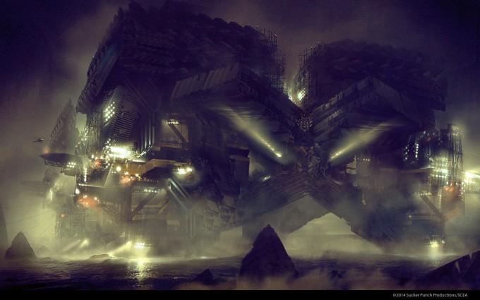 Levi_Hopkins_Infamous_2_Concept_Art_Concrete_Explore_Water_Base_1