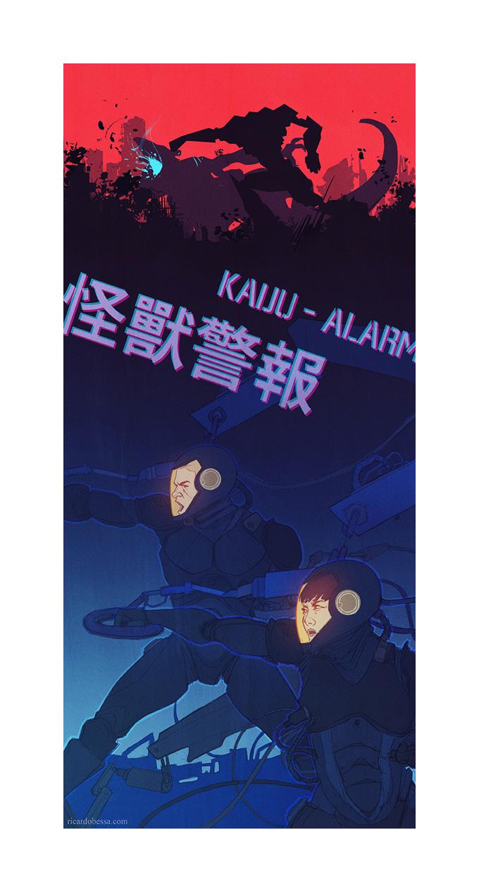 Ricardo_Bessa_Art_Illustration_Kaiju_Attack