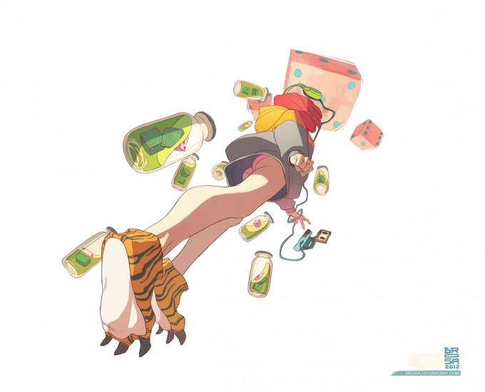 Sergi_Brosa_Concept_Art_Illustration_Lucky-Tiger-