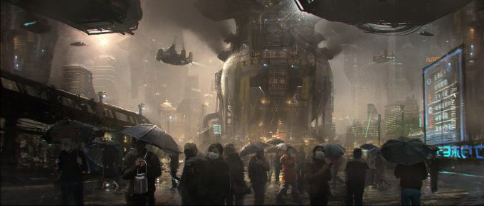 Emmanuel Shiu Concept Art Illustration blade runner