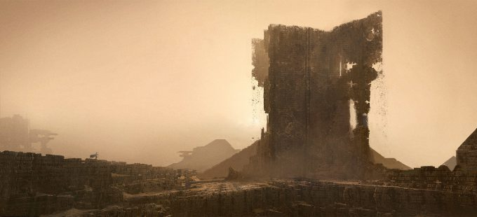 Emmanuel Shiu Concept Art Illustration sand