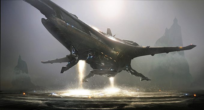 Emmanuel Shiu Concept Art Illustration vtol 008 2k