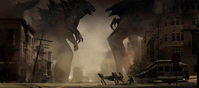 Godzilla_Concept_Art_01_Stand_Off_Matt_Allsopp