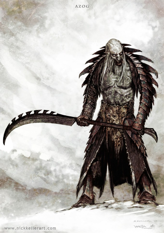 The_Hobbit_The_Desolation_of_Smaug_Concept_Art_Azog_ArmourWeapon_03_NK