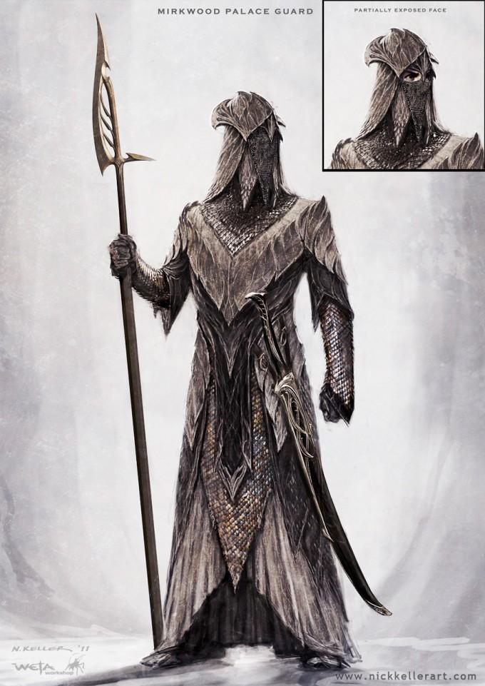 The_Hobbit_The_Desolation_of_Smaug_Concept_Art_Mirkwood_PalaceGuard_01B_NK
