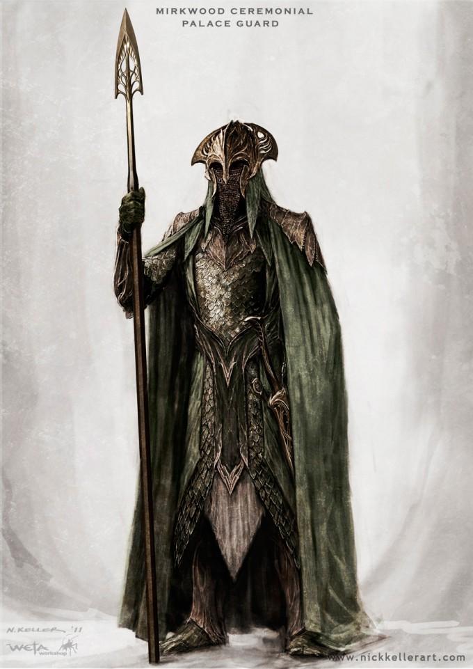 The_Hobbit_The_Desolation_of_Smaug_Concept_Art_Mirkwood_PalaceGuard_04_NK
