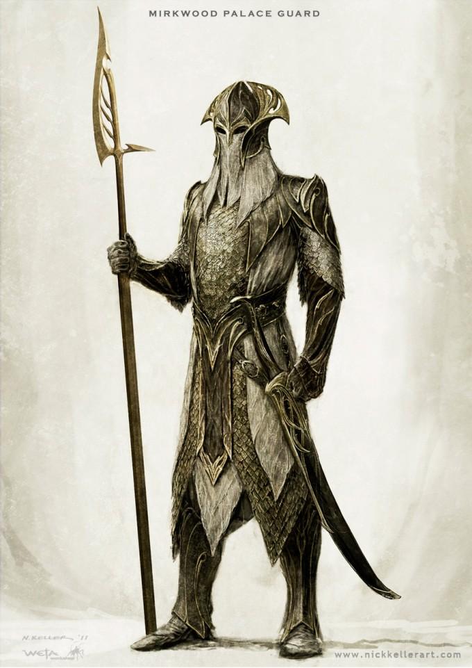 The_Hobbit_The_Desolation_of_Smaug_Concept_Art_Mirkwood_PalaceGuard_NK