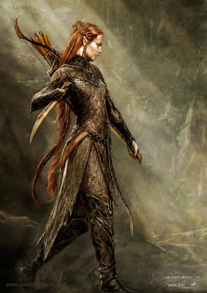 The_Hobbit_The_Desolation_of_Smaug_Concept_Art_Tauriel_01B_NK
