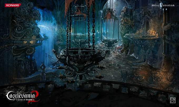 Castlevania_Lords_of_Shadow_2_Concept_Art_CarlosNCT_Ballroom