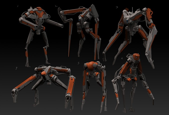 Daryl_Mandryk_zBrush_Concept_bot_sketches