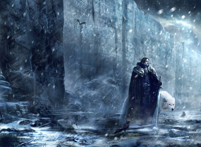 Game_of_Thrones_Concept_Art_Illustration_01_Gary_Jamroz_Jon_Snow