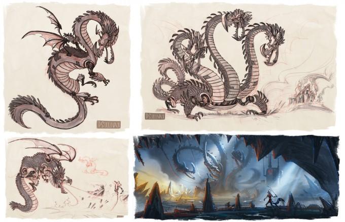 Paul_Sullivan_Character_design_Moat_monster