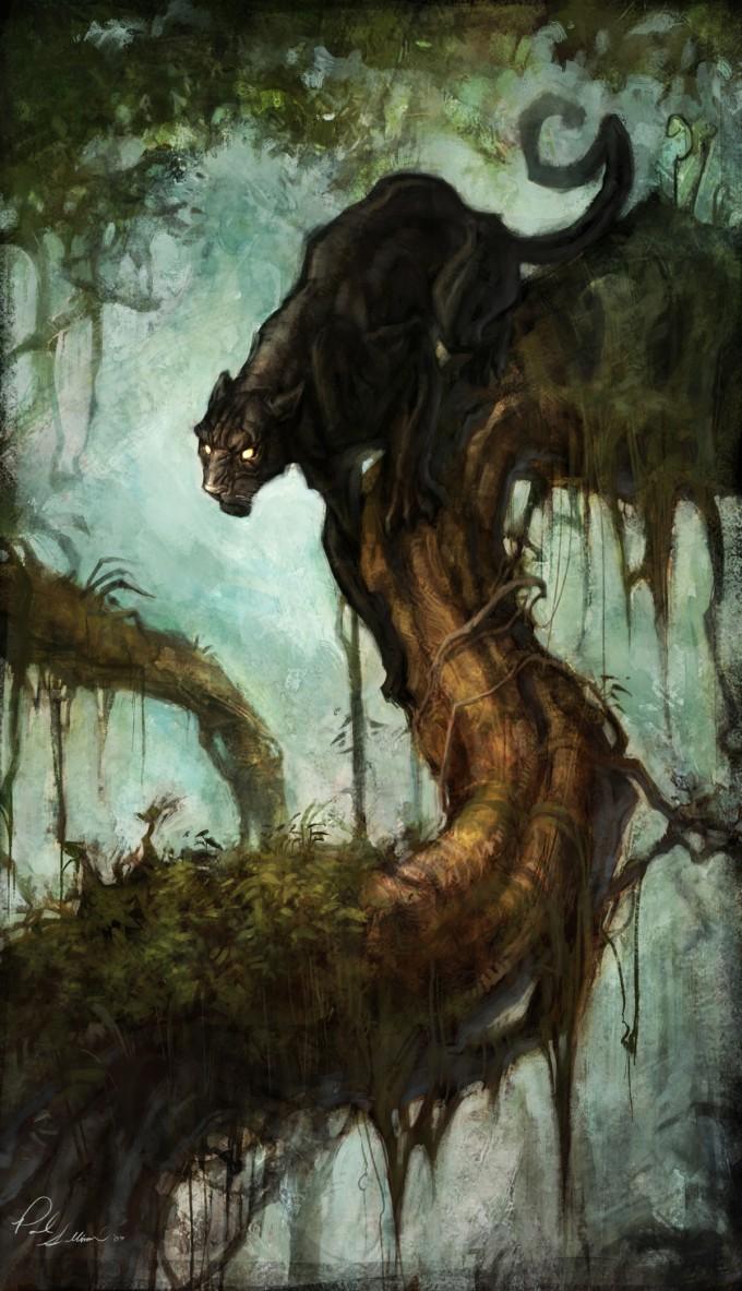 Paul_Sullivan_Concept_Art_Illustration_Panther_Pounce