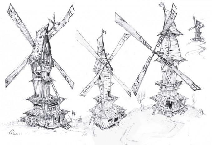 Paul_Sullivan_Concept_Art_Illustration_windmills