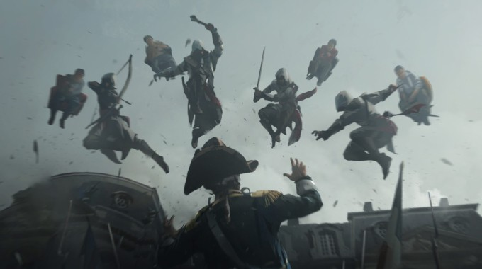 Assassin's Creed Unity Art by West Studio