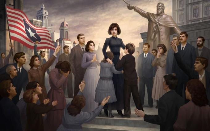 Bioshock Infinite Art by West Studio