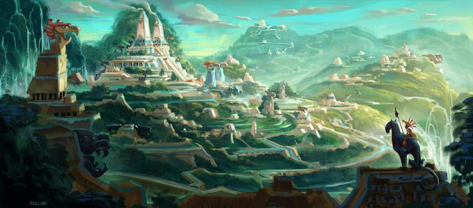 maya and the three concept art paul sullivan N01