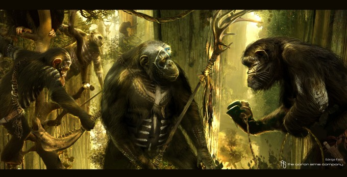Dawn_of_the_Planet_of_the_Apes_Concept_Art_ASC_Hunting_01