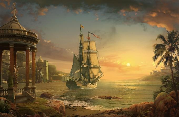 Form_Language_Studio_Concept_Art_07_Sunset_Harbor