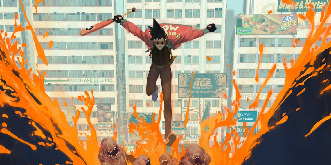 Sunset overdrive Vasili Zorin Concept Art Illustration M01