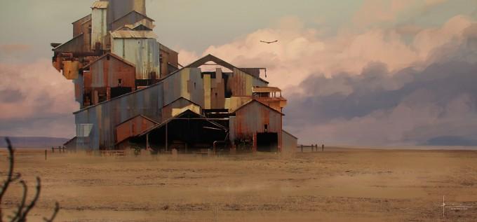 Boco_Bram_Sels_Concept_Art_Illustration_Speedpaint_Abandoned-House