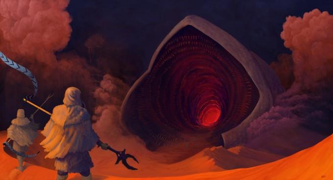 Dune_Concept_Art_Illustration_01_Luke_Oram_Spice_Mass