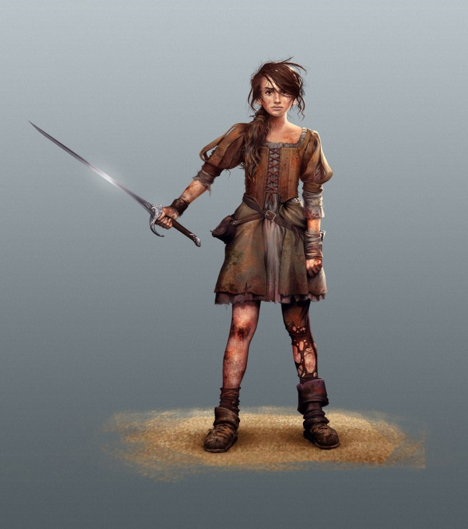 Game_of_Thrones_Concept_Art_Illustration_01_Alfonso_Pardo_Arya_Stark