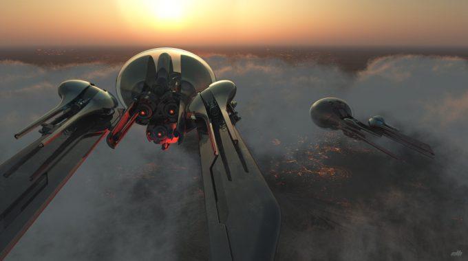 eric lloyd brown concept art design drones 2250
