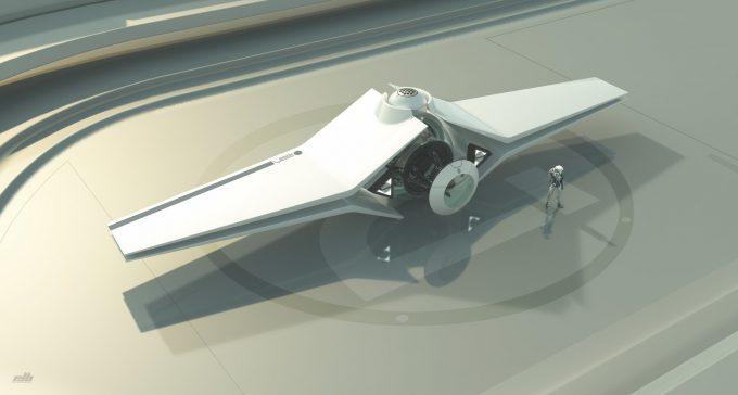eric lloyd brown concept art design temporal engine core transport