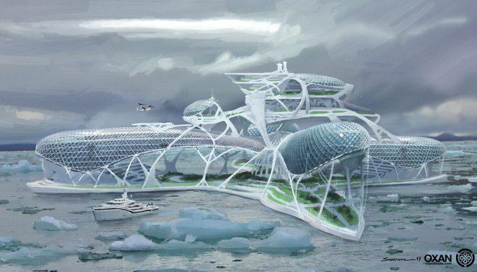 yohann schepacz oxan studio concept art arctic resort 01