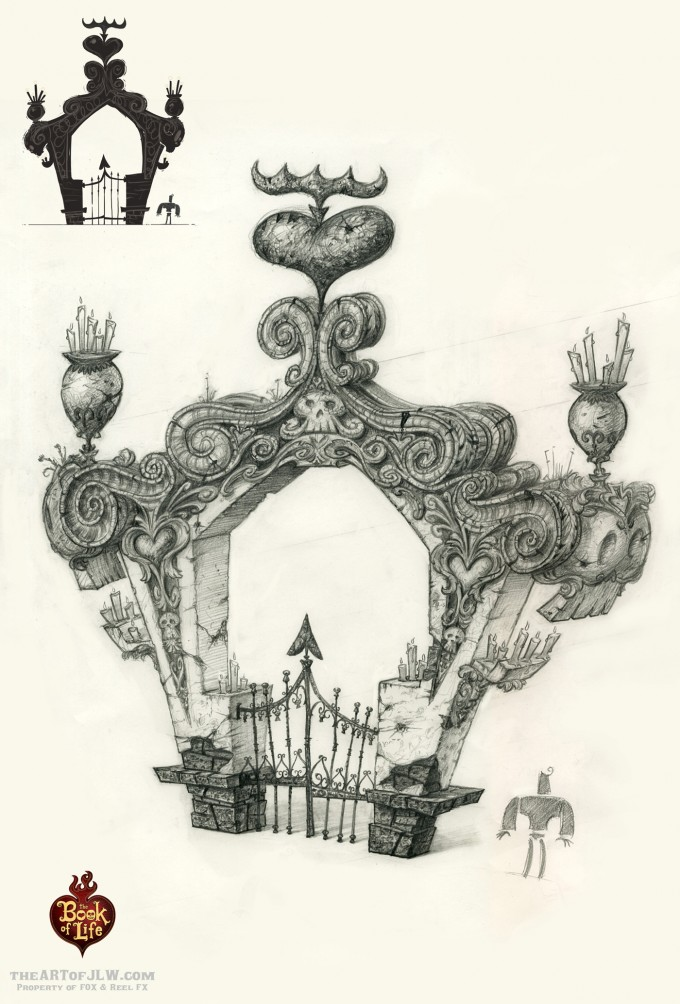 18_Book_of_Life_Concept_Art_JLW_Cemet