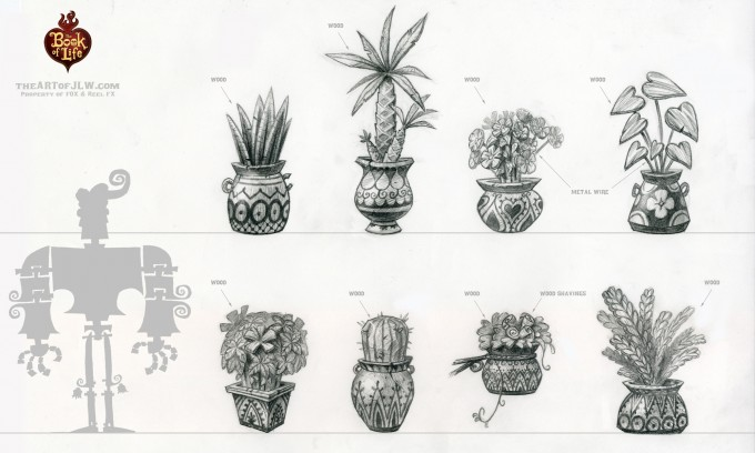 19_Book_of_Life_Concept_Art_JLW_Plant