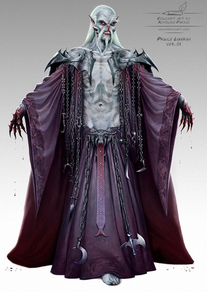 Alfonso_Pardo_Concept_Art_Illustration_Vamp_Prince_Lokkrah