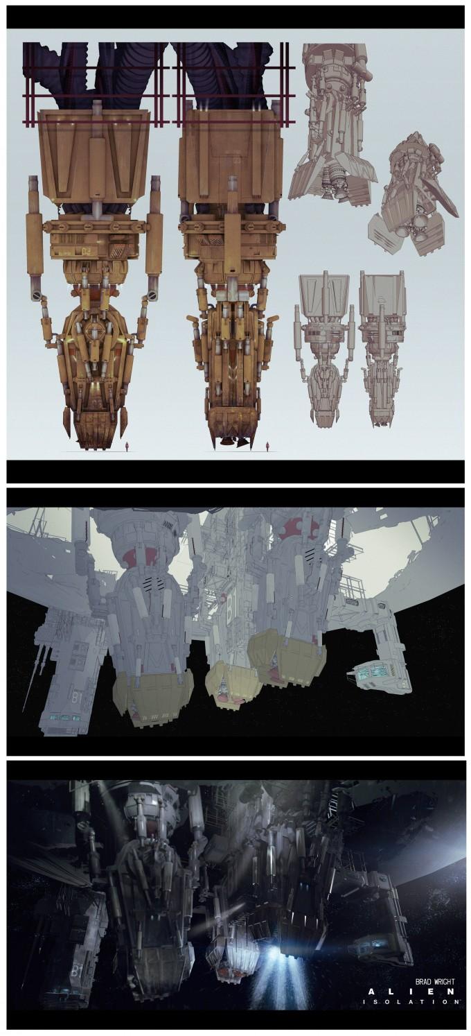 Alien_Isolation_Concept_Art_BW_gravity-anchor