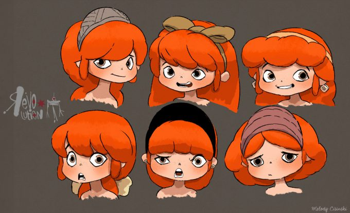 Melody Cisinski Character Concept Art Illustration 01